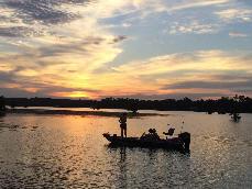 Gantt Lake RV Park boat