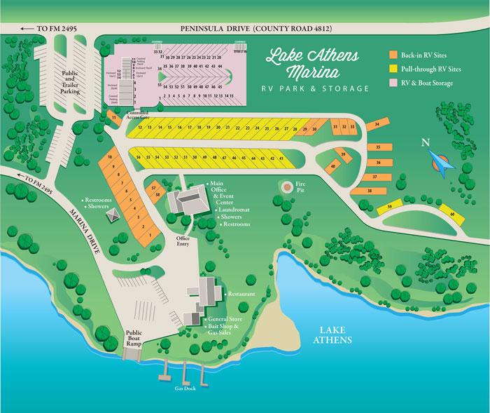 Lake Athens Marina & RV Park